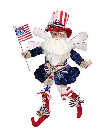 "Mark Roberts Proud Patriot Fairy - 16"""