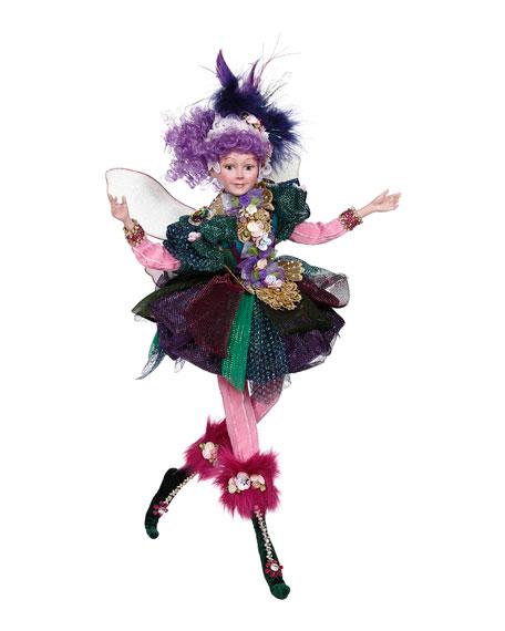 "Mark Roberts Peacock Jewel Fairy Collectible, 18"""