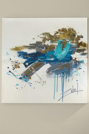 "John-Richard Collection ""Outside The Box"" Canvas Art by Zabel"