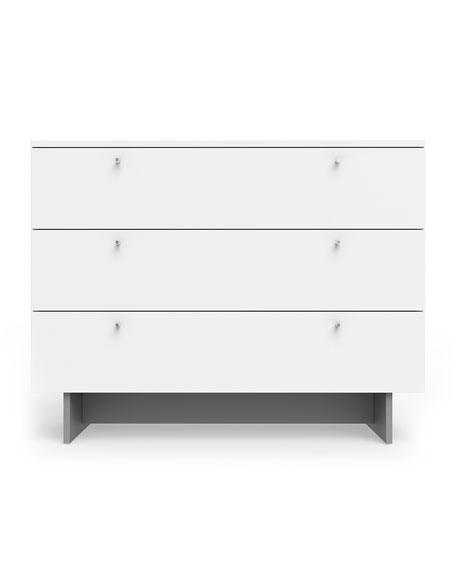 "Image 1 of 2: Spot On Square Roh 45"" Dresser, White"