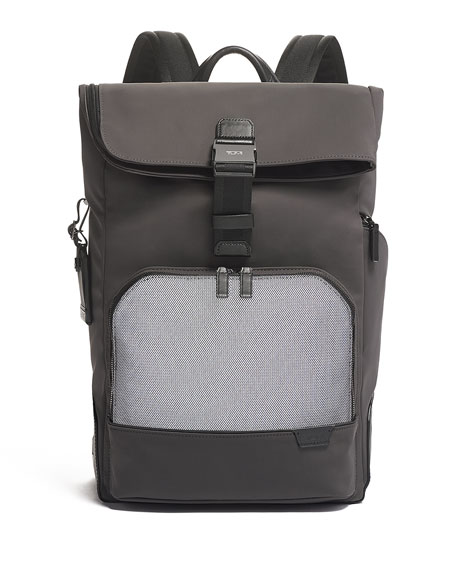 Image 2 of 5: TUMI Harrison Osborn Roll Top Backpack
