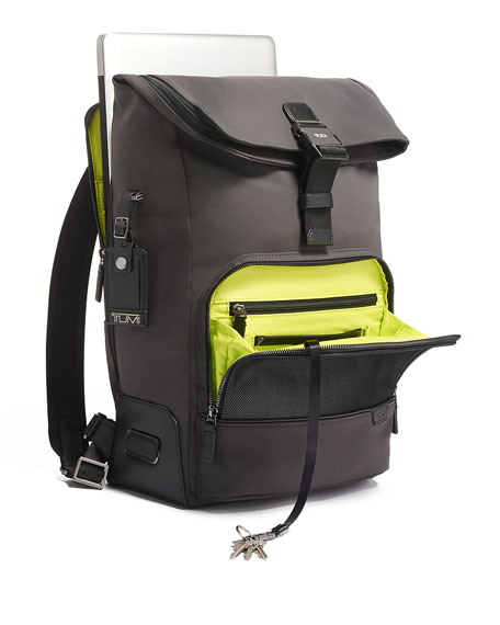 Image 4 of 5: TUMI Harrison Osborn Roll Top Backpack