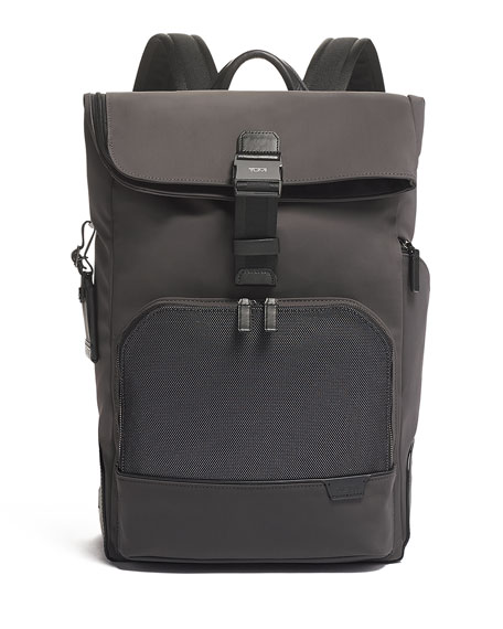 Image 1 of 5: TUMI Harrison Osborn Roll Top Backpack