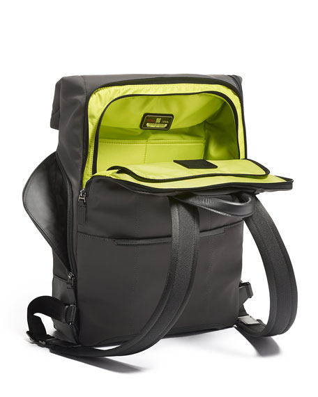Image 5 of 5: TUMI Harrison Osborn Roll Top Backpack