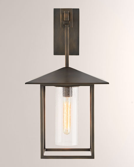 Image 2 of 2: Arteriors Temple Black Sconce