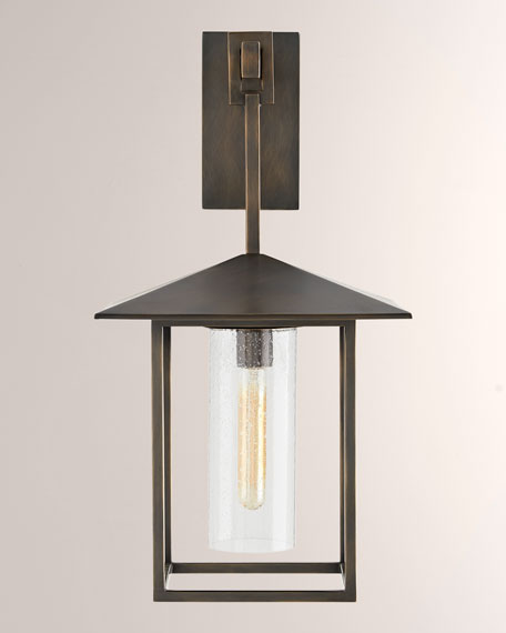 Image 1 of 2: Arteriors Temple Black Sconce