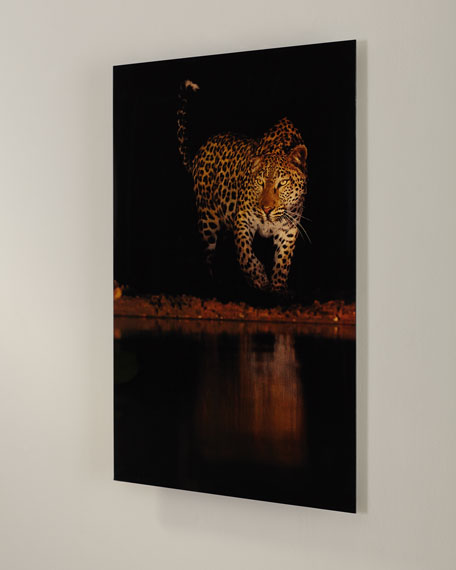 "Image 3 of 3: ""Lakeside Leopard"" Giclee Photography"