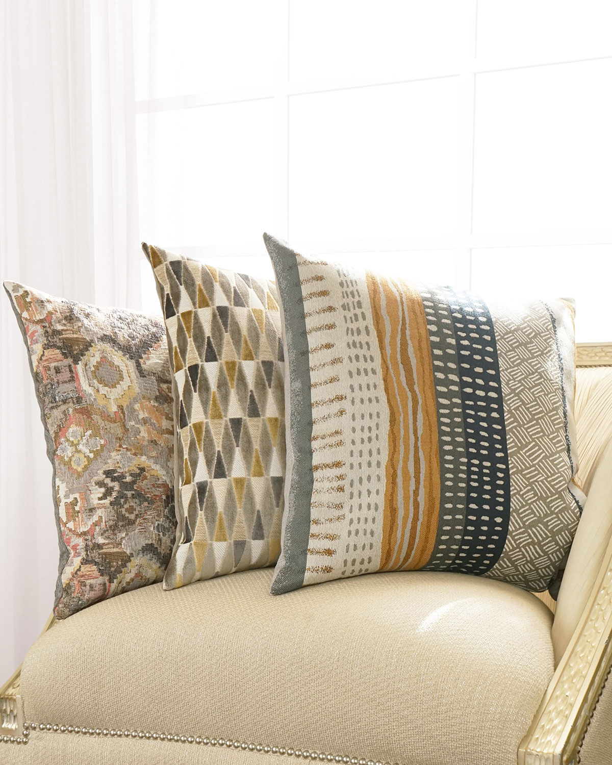 D.V. Kap Home Tracks Decorative Pillow