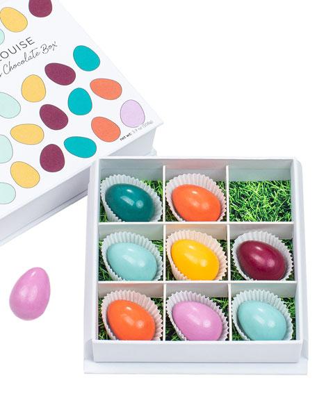 Maggie Louise Brilliant Eggs 9-Piece Chocolate Gift Box