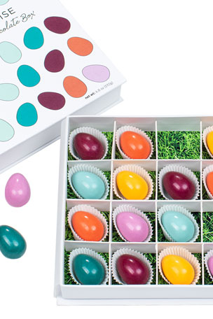 Maggie Louise Brilliant Eggs 16-Piece Chocolate Gift Box