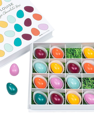 Brilliant Eggs 16-Piece Chocolate Gift Box