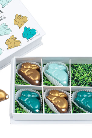 Maggie Louise Cottontail Chocolates Gift Box