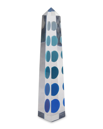 Acrylic Chroma Obelisk Blue