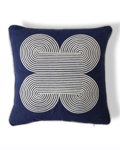 US Pompidou Quatrefoil Pillow