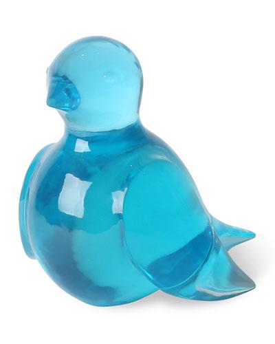 Giant Acrylic Bluebird Turquoise