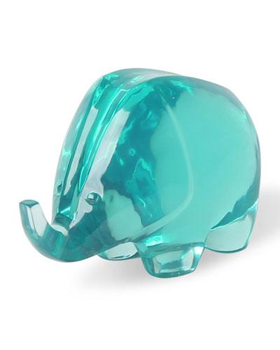 Acrylic Elephant Celadon