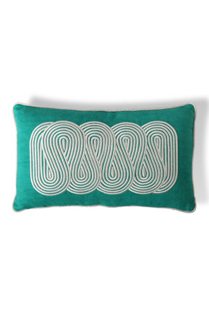 Jonathan Adler US Pompidou Path Pillow 12x20