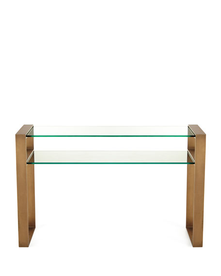 Image 2 of 2: Arteriors Jocelyn Console Table