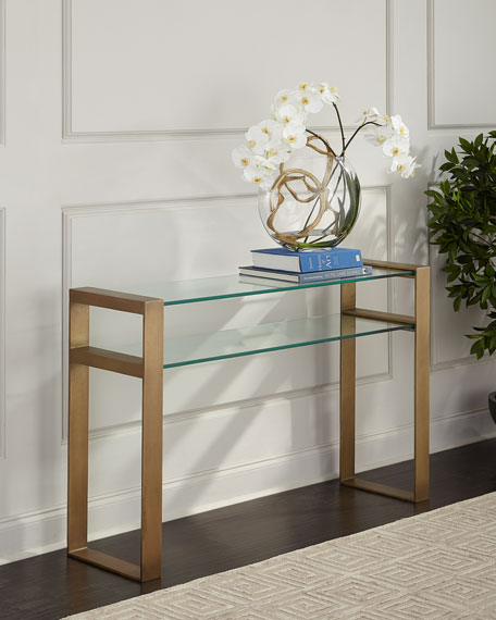 Image 1 of 2: Arteriors Jocelyn Console Table