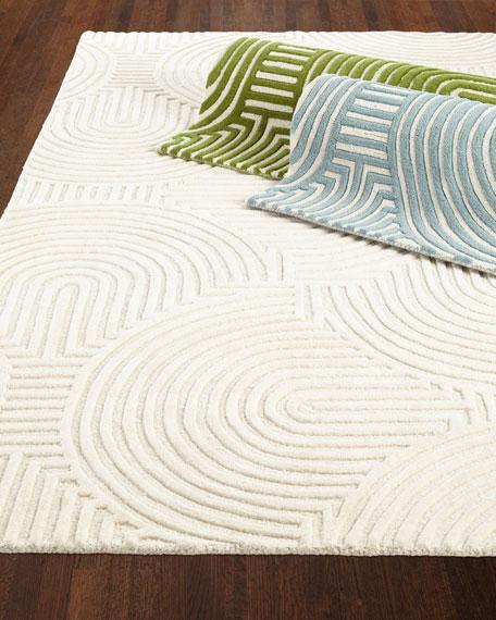 Global Views Adonis Hand-Tufted Rug, 9' x 12'