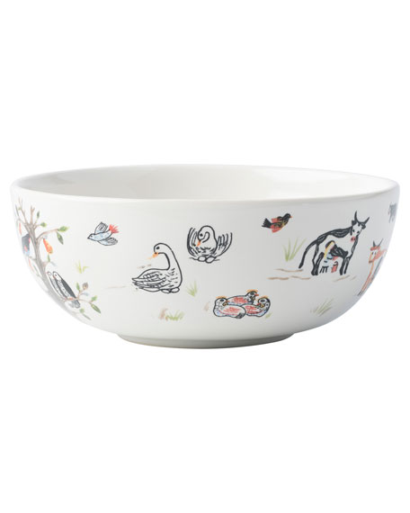 Image 3 of 3: Juliska Twelve Days of Christmas Cereal/Ice Cream Bowl