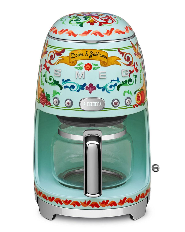 Smeg Dolce Gabbana x SMEG Drip Coffee Machine | Neiman Marcus