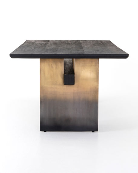 Image 4 of 5: Ombre Dining Table