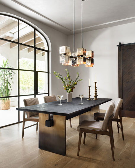 Image 1 of 5: Ombre Dining Table