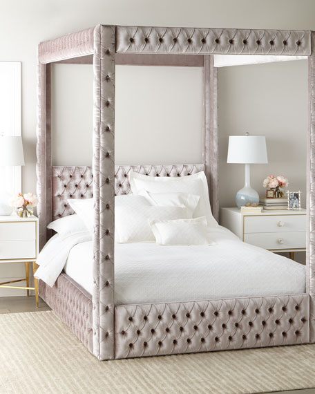 Haute House Astrid King Canopy Bed