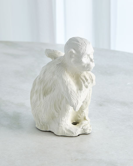 Image 2 of 2: William D Scott Monkey Sculpture