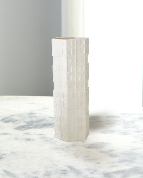 Image 1 of 2: William D Scott Hex Condo Vase - Large