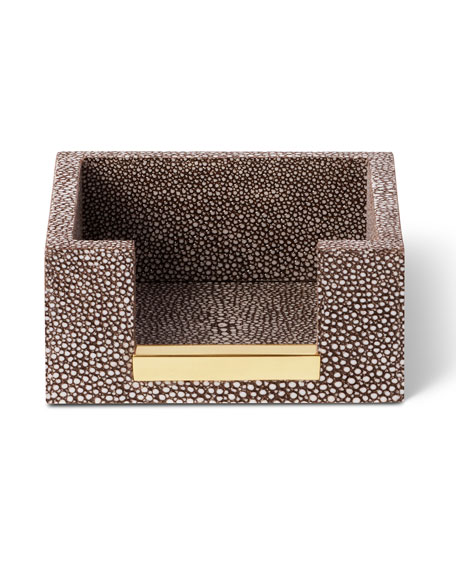 AERIN Shagreen Memo Paper Holder