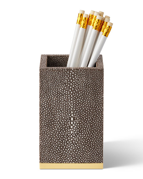 AERIN Shagreen Pencil Cup