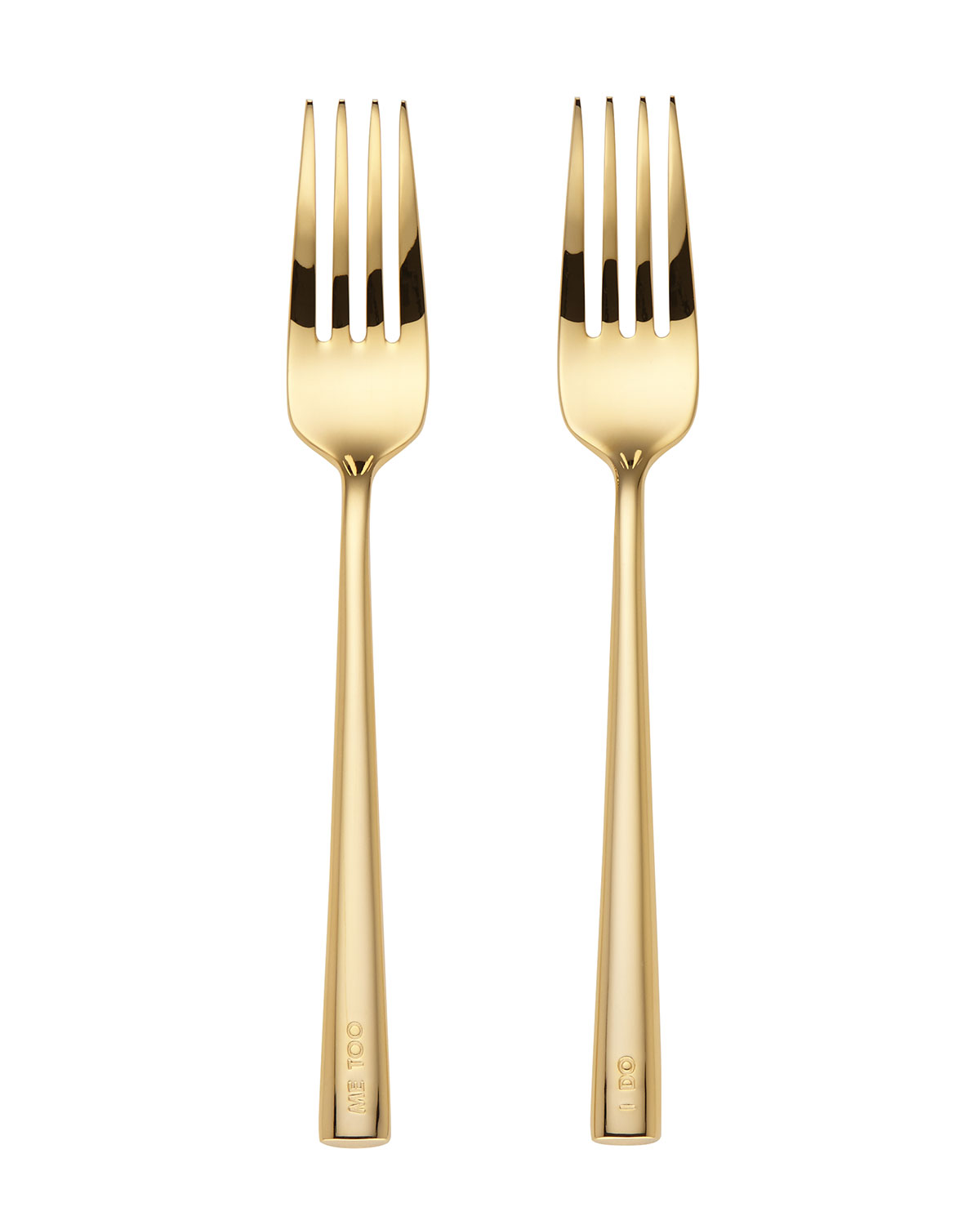 kate spade new york i do, me too 2-piece fork set