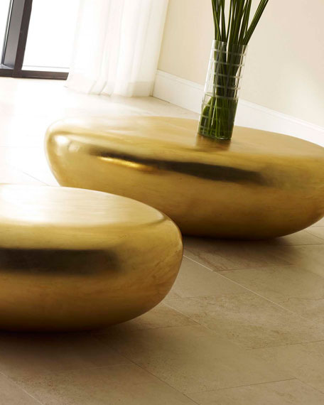 The Phillips Collection River Stone Coffee Table