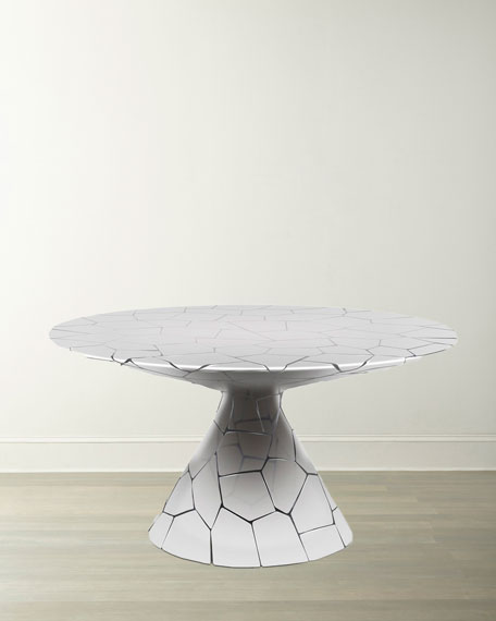 The Phillips Collection Crazy Cut Dining Table