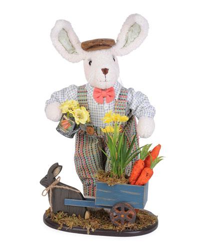 Bunny Cart Decor