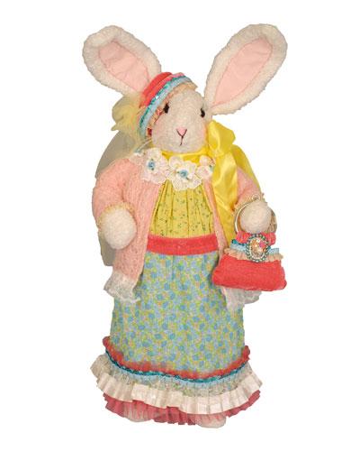 Mrs. Blue Bunny Decor