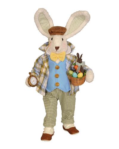 Gentleman Bunny Decor