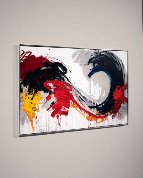 "Image 2 of 2: RFA Fine Art ""Swirl"" Wall Art by Robert Robinson"