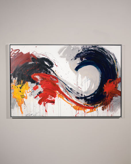 "Image 1 of 2: RFA Fine Art ""Swirl"" Wall Art by Robert Robinson"