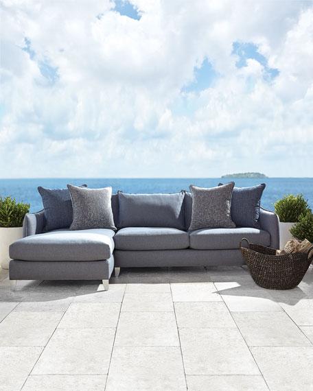 Bernhardt Monterey Chaise Sofa