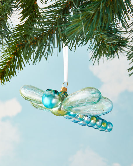 Exclusive Dragonfly Christmas Ornament Neiman Marcus