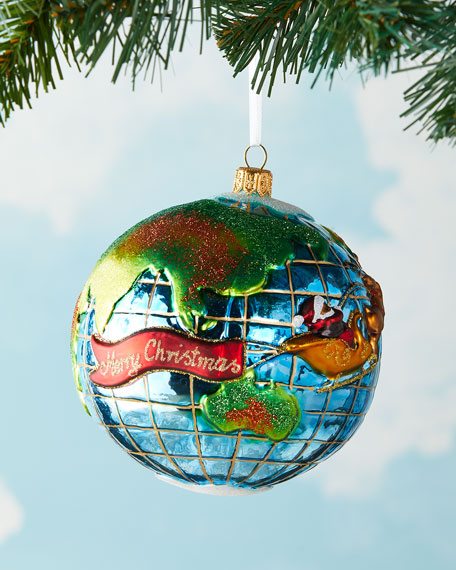 Image 1 of 3: Exclusive Santa's Journey Around the Globe Ornament