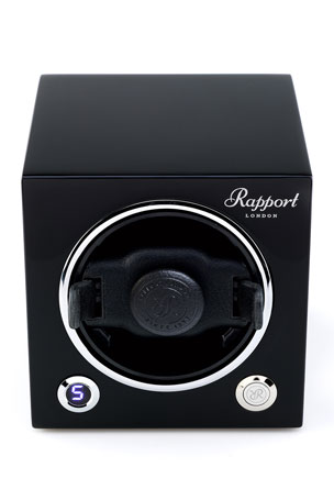 Rapport Evolution Cube Watch Winder - Black