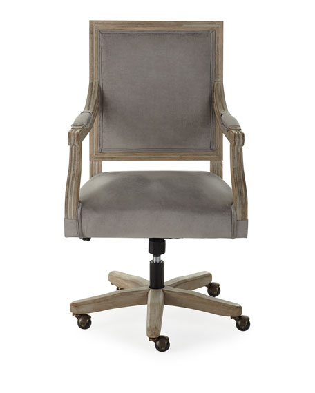 Johua Velvet Office Chair