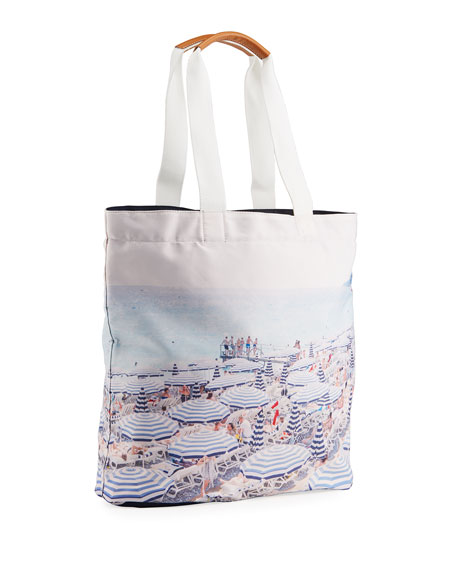 Image 3 of 3: Gray Malin The French Riviera Tote Bag