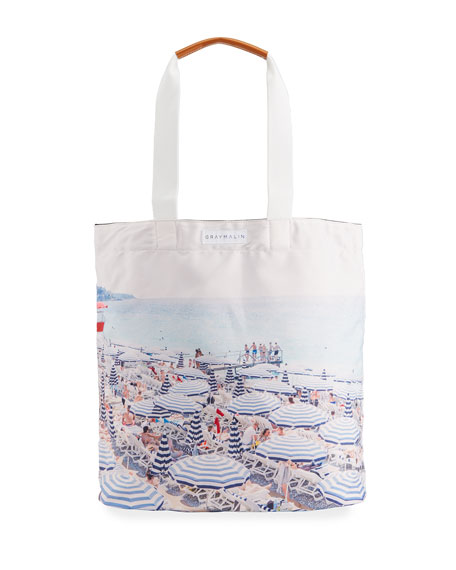 Image 1 of 3: Gray Malin The French Riviera Tote Bag