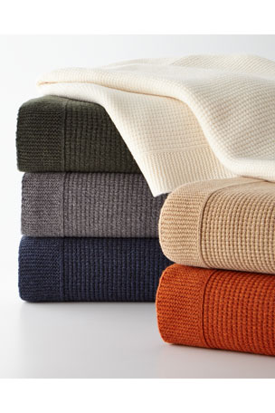 Sferra Chunky Knit Throw