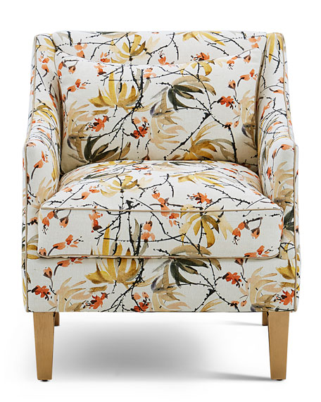 Image 2 of 2: John-Richard Collection Mid-Sized Occasional Arm Chair